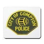 Compton Police Mousepad