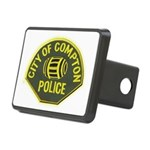 Compton Police Rectangular Hitch Cover