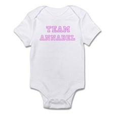 Pink team Annabel Infant Bodysuit