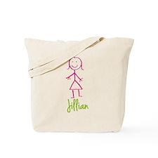 Jillian-cute-stick-girl.png Tote Bag