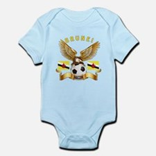 Brunei Football Design Infant Bodysuit