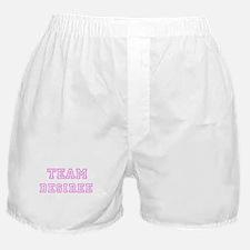 Pink team Desiree Boxer Shorts