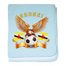 Brunei Football Design baby blanket