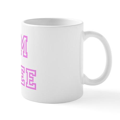 Pink team Desiree Mug