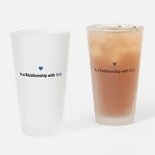 Seth Relationship Drinking Glass