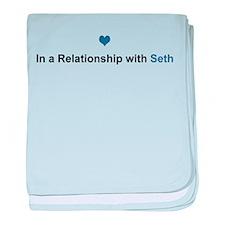 Seth Relationship baby blanket