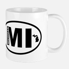 Michigan Map Mug