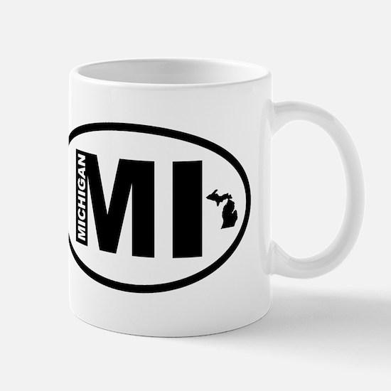 Michigan Map Mug