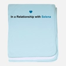 Selena Relationship baby blanket