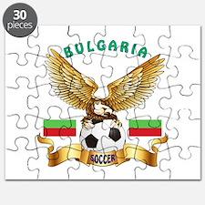 Bulgaria Football Design Puzzle