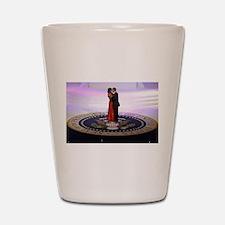 Michelle Barack Obama Shot Glass
