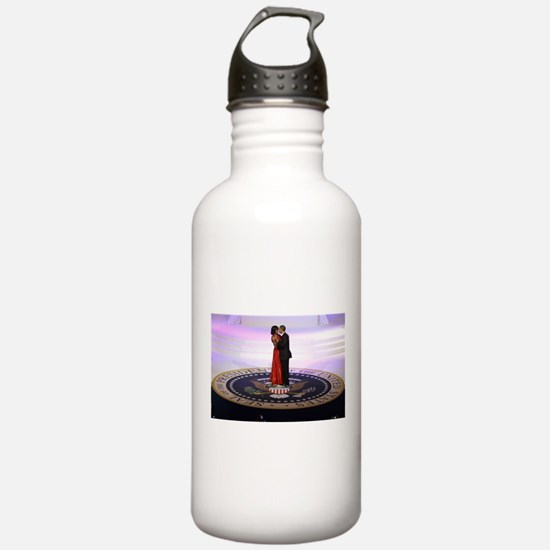 Michelle Barack Obama Sports Water Bottle