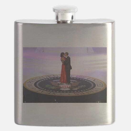 Michelle Barack Obama Flask