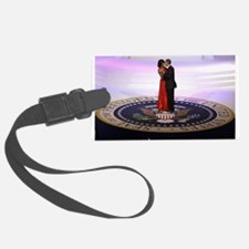Michelle Barack Obama Luggage Tag