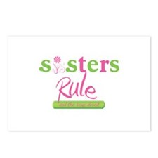 Sisters Rule and the boys drool! Postcards (Packag