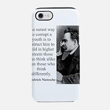 The Surest Way To Corrupt - Nietzsche iPhone 7 Tou
