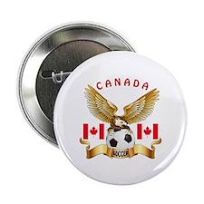 "Canada Football Design 2.25"" Button (100 pack)"