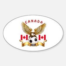 Canada Football Design Decal