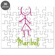 Maribel-cute-stick-girl.png Puzzle