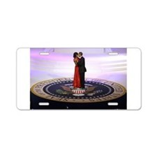 Michelle Barack Obama Aluminum License Plate