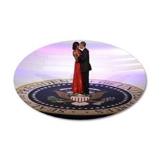Michelle Barack Obama Wall Decal