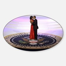 Michelle Barack Obama Sticker (Oval)