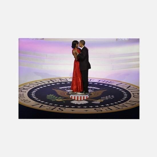 Michelle Barack Obama Rectangle Magnet
