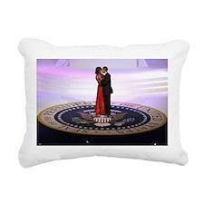 Michelle Barack Obama Rectangular Canvas Pillow