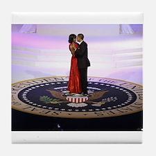 Michelle Barack Obama Tile Coaster