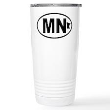 Minnesota Map Travel Mug