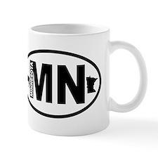 Minnesota Moose and Map Mug