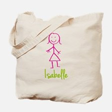 Isabelle-cute-stick-girl.png Tote Bag