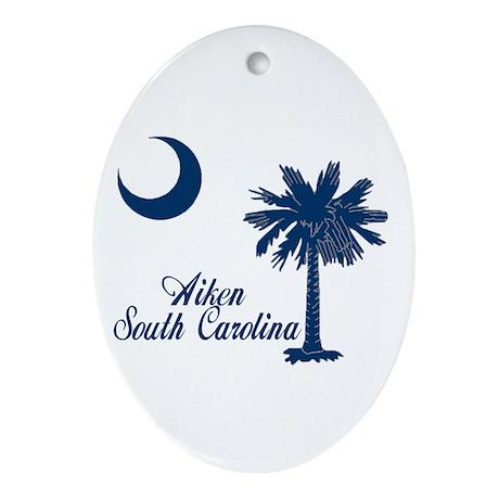 Aiken 1 Ornament (Oval)