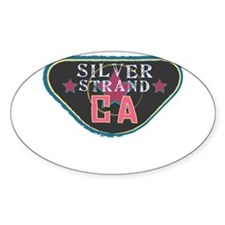 Silver Strand Boardwalk Badge Decal