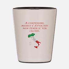 Italian Proverb Truth Shot Glass