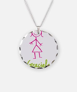 Graciela-cute-stick-girl.png Necklace