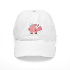 Flying Pig Baseball Cap