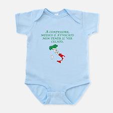 Italian Proverb Truth Infant Bodysuit