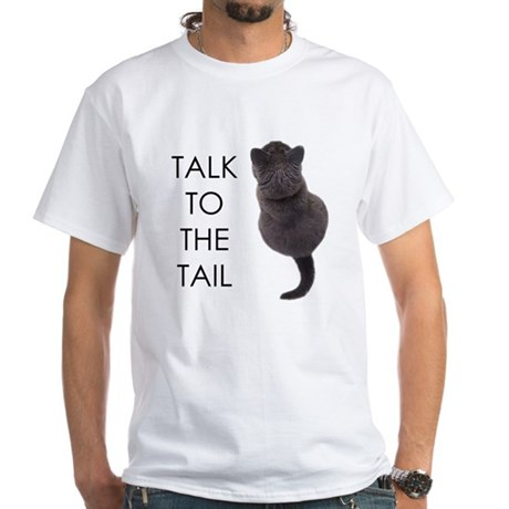 talk to the tail Women's Pink T-Shirt T-Shirt