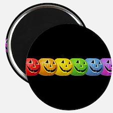 Rainbow Pumpkins Magnet
