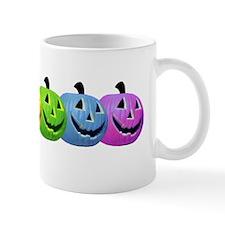 Rainbow Pumpkins Small Mug