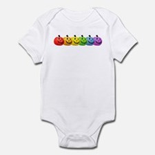 Rainbow Pumpkins Infant Bodysuit