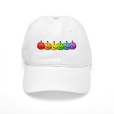 Rainbow Pumpkins Baseball Cap