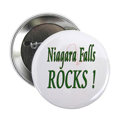 Niagara Falls Rocks ! Button