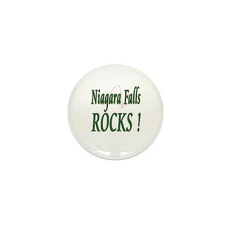 Niagara Falls Rocks ! Mini Button (100 pack)
