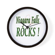 Niagara Falls Rocks ! Wall Clock