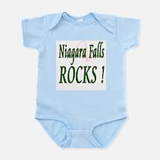 Niagara Falls Rocks ! Infant Bodysuit
