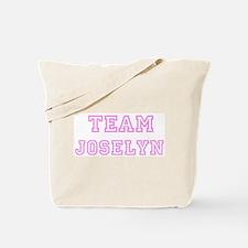 Pink team Joselyn Tote Bag