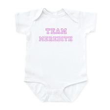 Pink team Meredith Infant Bodysuit