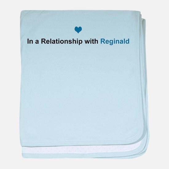 Reginald Relationship baby blanket